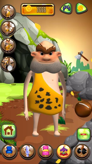 Talking Caveman screenshot four