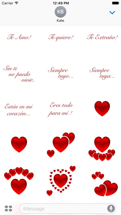Te Amo Stickers screenshot-4
