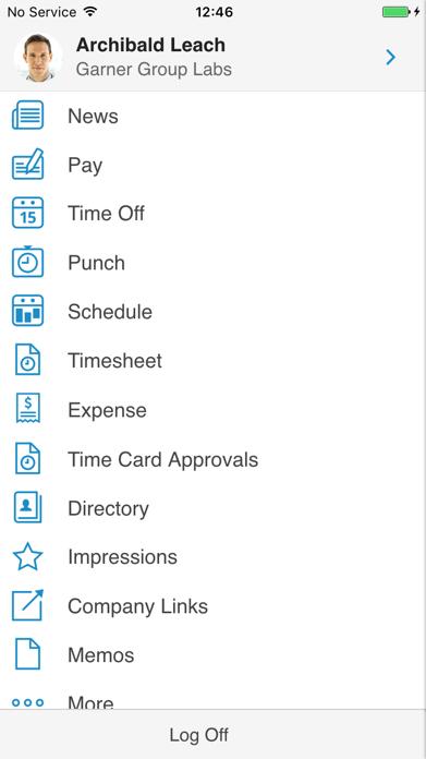 Paylocity Mobile Screenshot