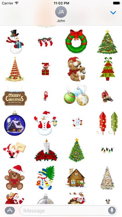 ChristmasGifs! 150+ Christmas Stickers screenshot-3