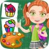点击获取Cupcake Coloring Book Kids Game