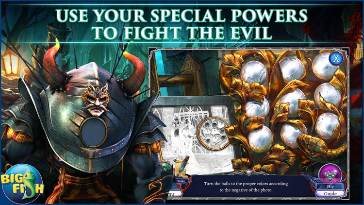 Grim Legends: The Dark City - Hidden Object Game screenshot-2