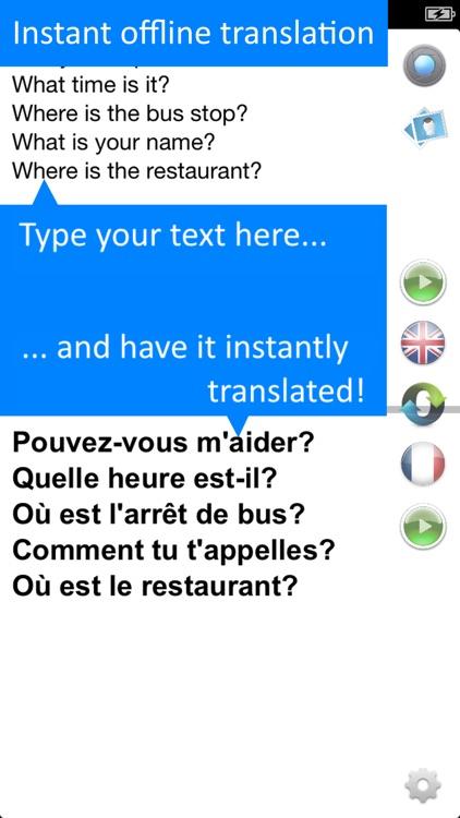 Translate Offline: French Pro