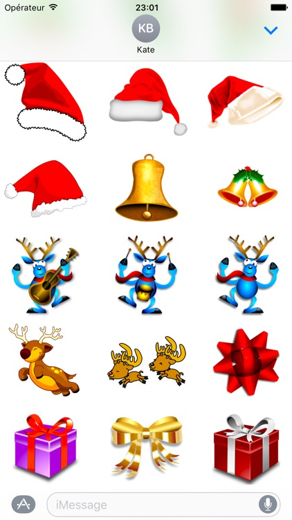 Merry Christmas • Stickers for iMessage screenshot-3