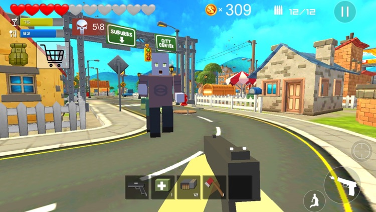 Pixel Block Strike 3D - Free sniper shooting games screenshot-0