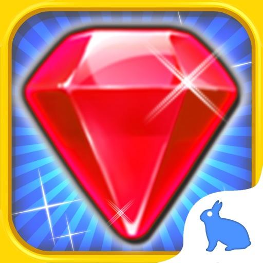 Jewel Heroes King - dash up charm geometry gems