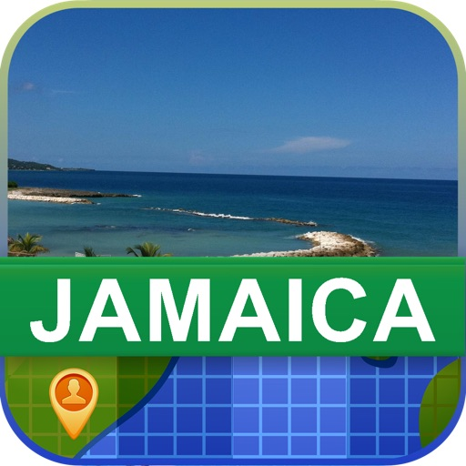 Offline Jamaica Map - World Offline Maps