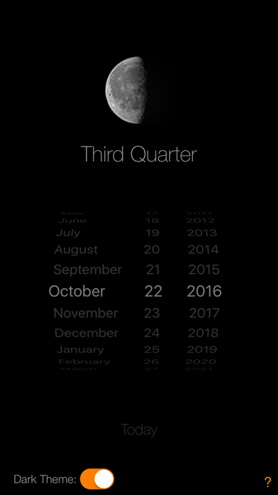 Lunar Phase Calendar screenshot four