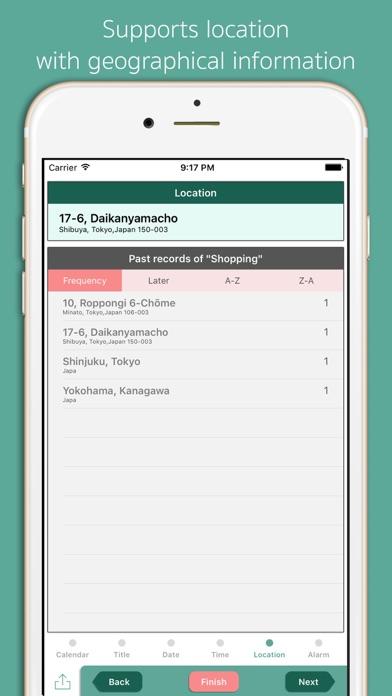QuickEntry for Calendar screenshot four