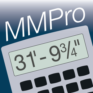 Measure Master Pro Feet Inch Fraction Calculator app
