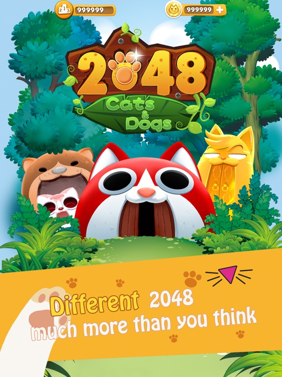 2048 Cats & Dogs ( Kitty & Puppy Fight) | App Price Drops