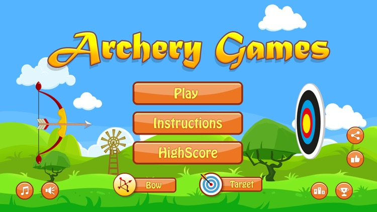 Archery Games screenshot-0