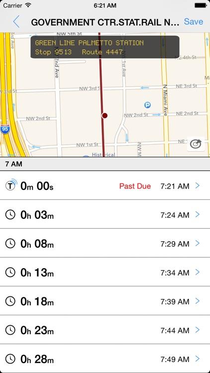 Transit Tracker - Miami Dade (MDT)