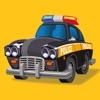 車とのりものパズル : 子供のためのロジックゲーム