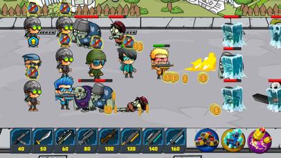 Zombie Defense vs Snipers - Zombies Games Frontier screenshot three
