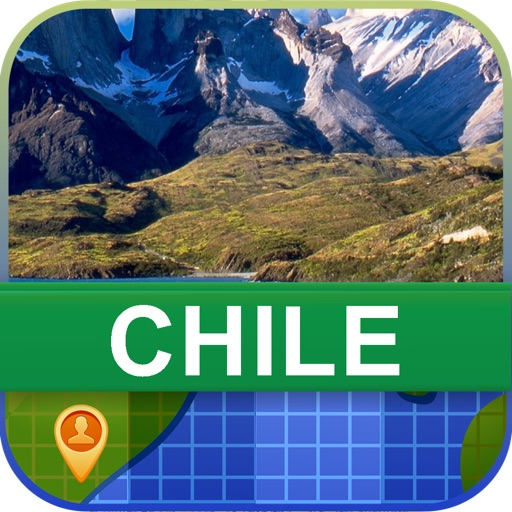 Offline Chile Map - World Offline Maps