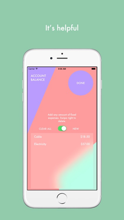 Happy Money - A Spending App