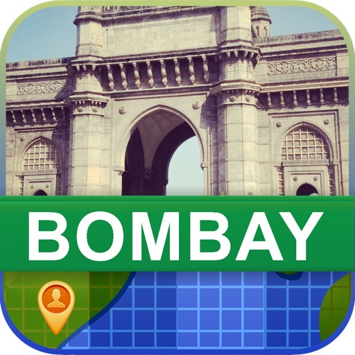 Offline Bombay, India Map - World Offline Maps