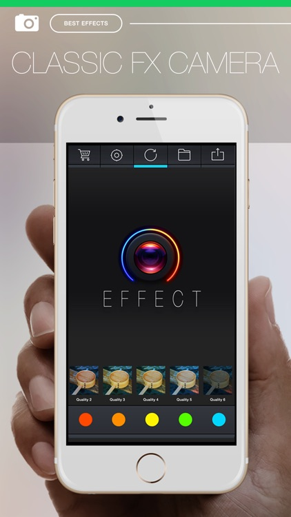 Pro FX Camera - camera effects filters plus photo editor screenshot-4