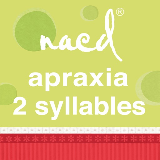 Speech Therapy for Apraxia - 2 Syllable Words