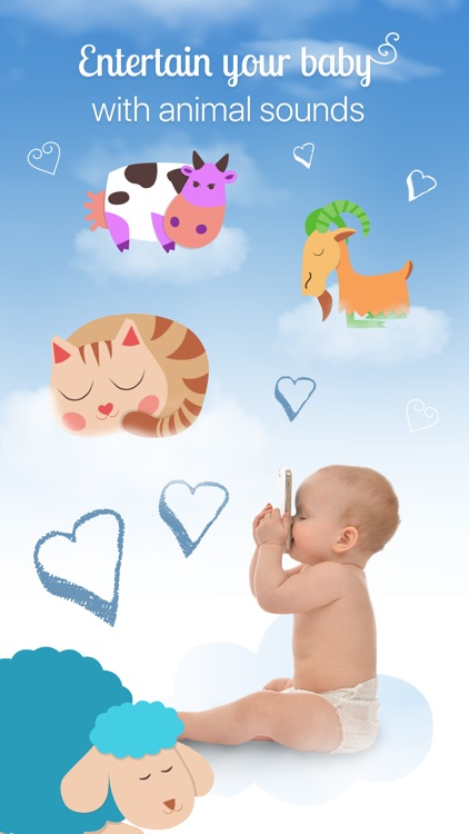White Noise Baby: Sleep Sounds & Relax Lullabies screenshot-2