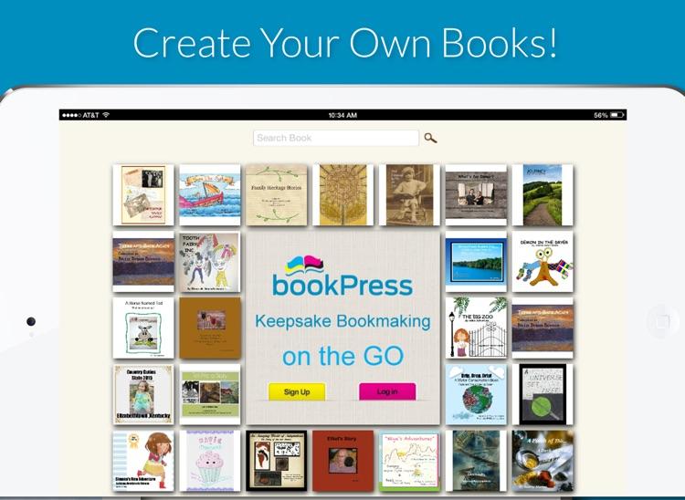 bookPress - Best Book Creator for Print Books screenshot-0