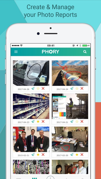 PHORY - PDF Photo Reporting for Professionals by API Services