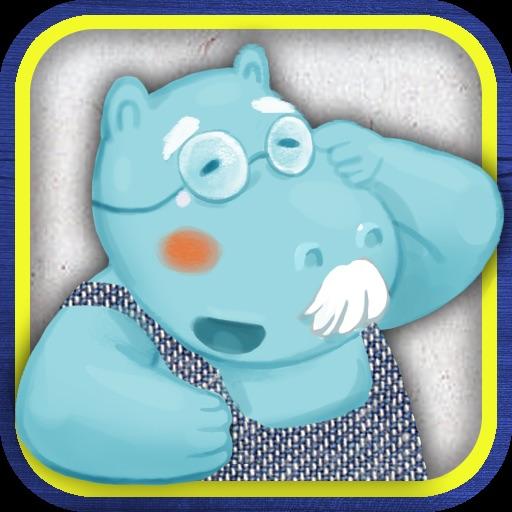 Finger Books-Grandpa Hippos Garden