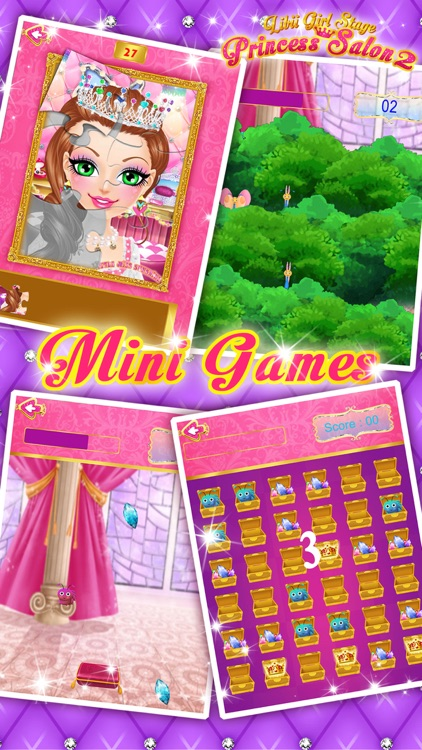 Princess Salon 2 - Makeup, Dressup, Spa and Makeover - Girls Beauty Salon Games screenshot-4