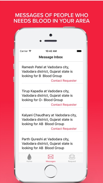 Anmol - Blood Donor Search App screenshot-3