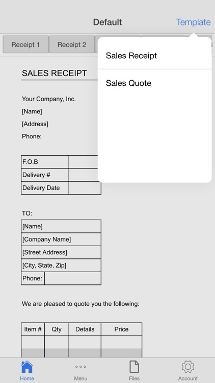 Sales Receipt Pro screenshot-4