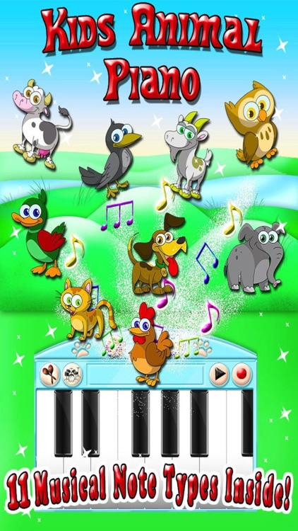 Kids Animal Piano Game screenshot-0