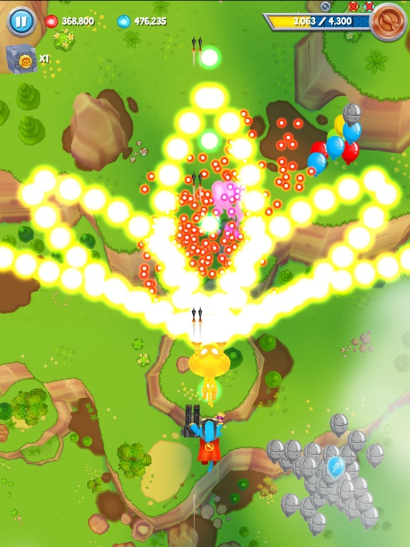 Screenshot #1 for Bloons Supermonkey 2