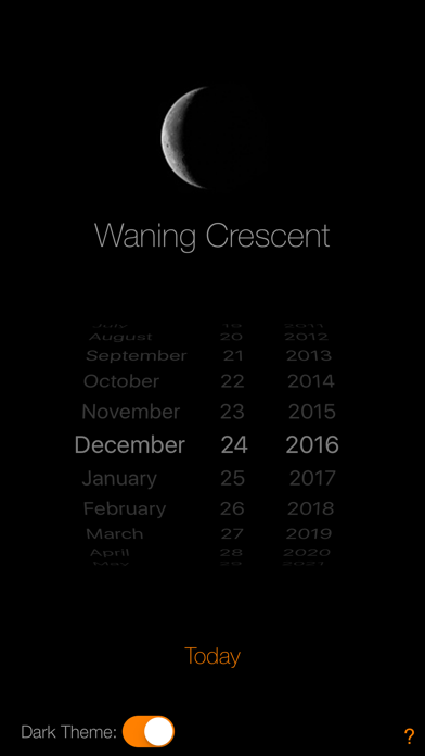 Lunar Phase Calendar screenshot three