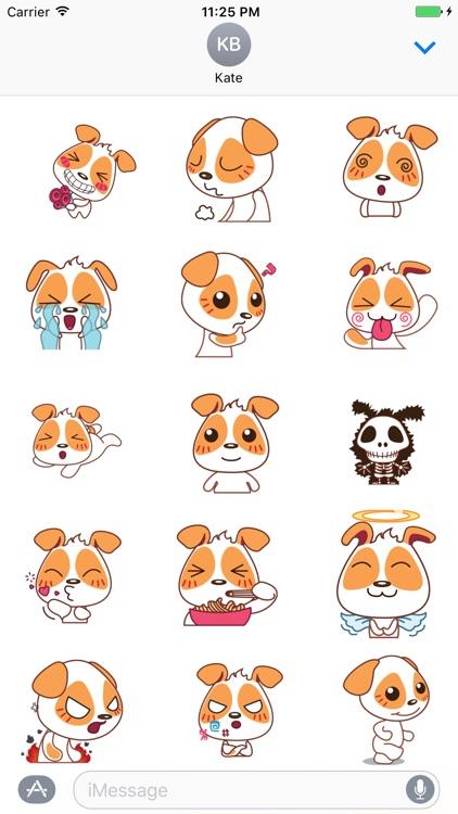 Puppy Cute - Fc Sticker