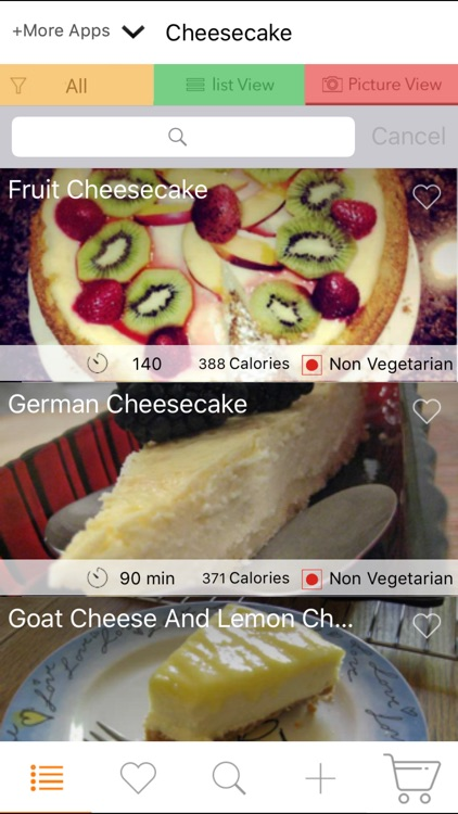 Cheesecake Recipes - Strawberry, Chocolate, Cakes screenshot-4