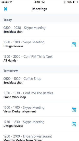 Skype for Business - 窓用