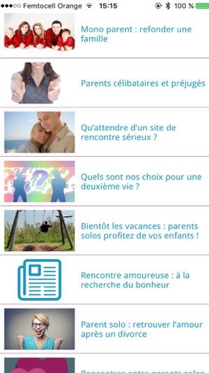 rencontre parents solo