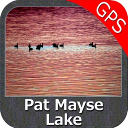 Lake Pat Mayse Texas GPS fishing chart offline