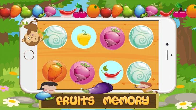 Fruit Garden Match it Memory Game