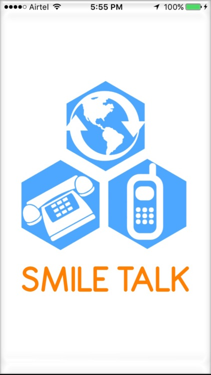 SMILE TALK Calling Card
