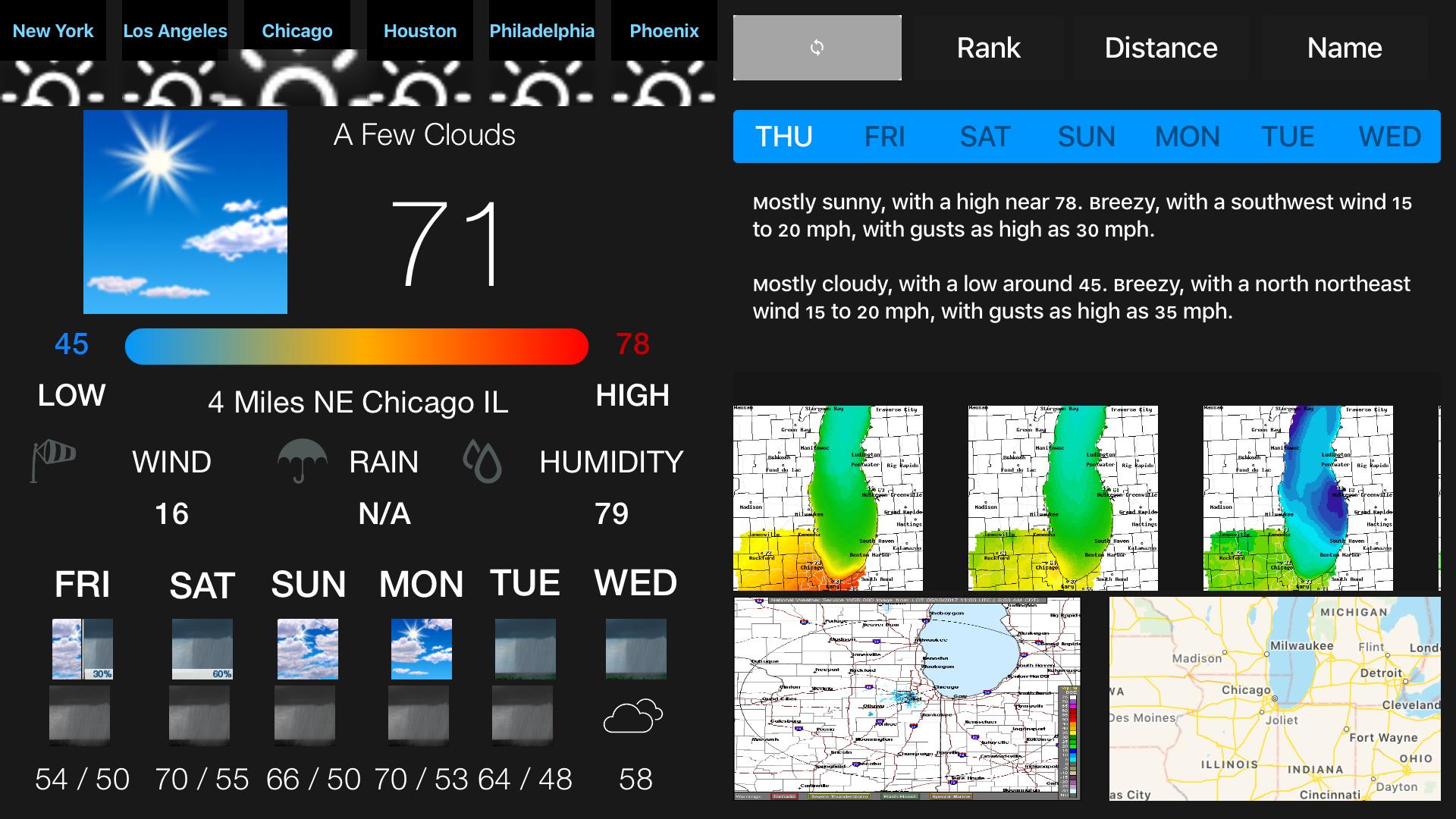 Instant NOAA Weather Forecast Pro screenshot 4