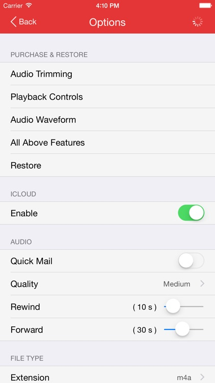 Recorder Pro: Audio Manager screenshot-4