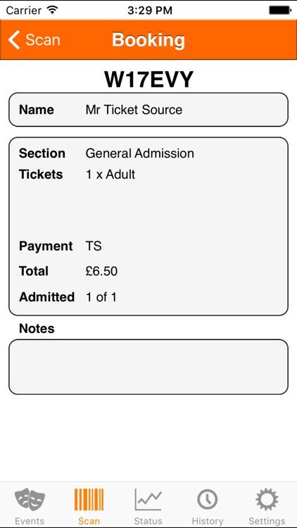TicketSource Express screenshot-3
