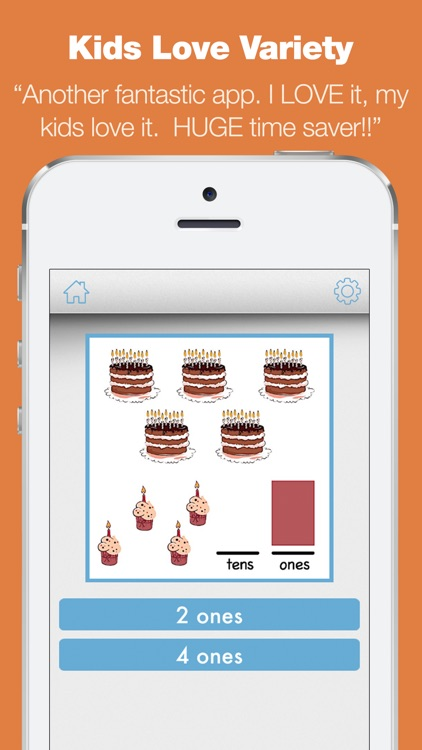 First Grade Learning Games - Fall Review App screenshot-4