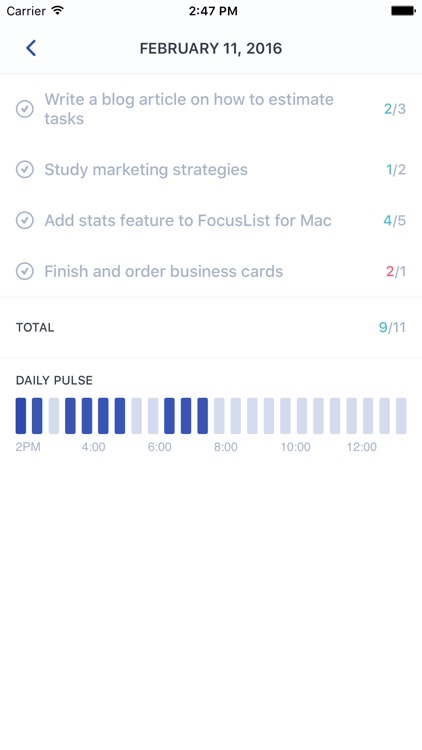 FocusList: Focus timer and daily planner screenshot-3