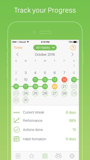 daily habits habit list and routine tracker on the app store