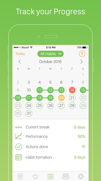 Daily Habits - Habit List and Routine Tracker screenshot-3