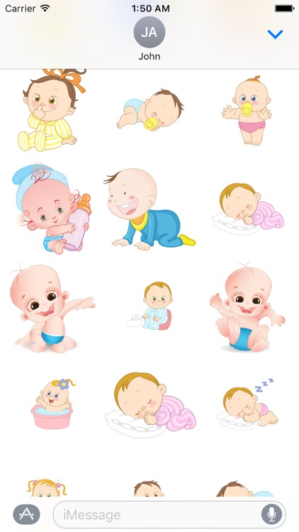 Baby Cute Sticker Pack 01