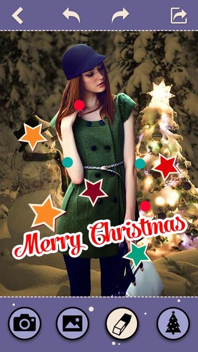 Cut Me In Christmas Photos - Change Yr Look to Santa Claus & Xmas Elf Screenshot on iOS